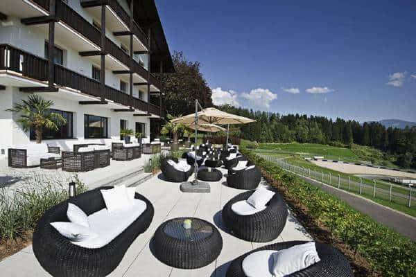 Spielberg Hotel Terasse