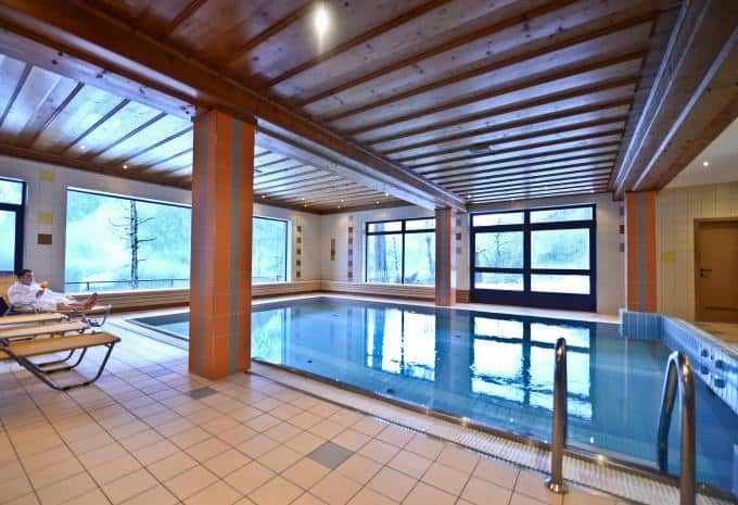 Heiligenblut Skiurlaub Pool