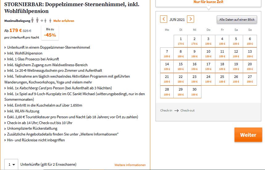 Lärchenhof Katschberg Angebot SE