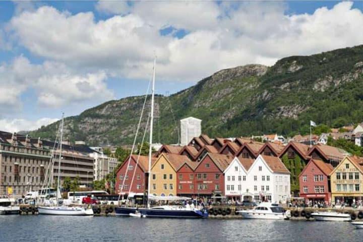 Norwegen Rundreise Stadt
