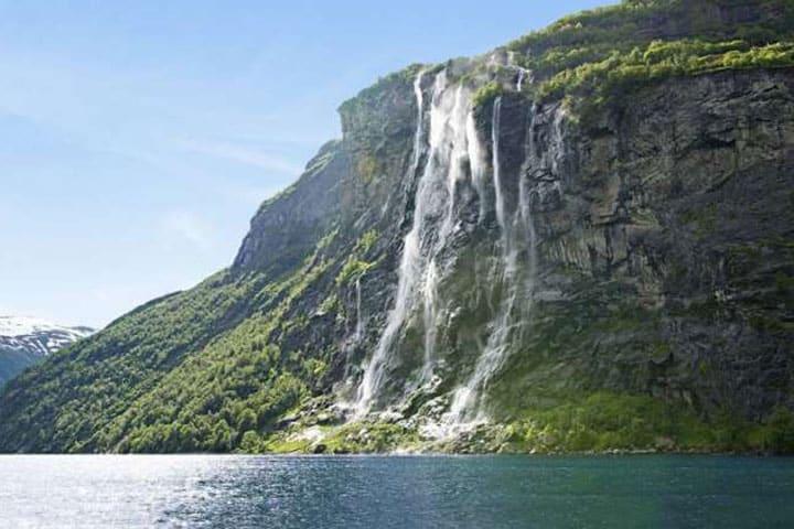 Norwegen Rundreise Wasserfall