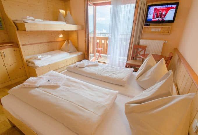 Weissbriach Hotel Zimmer