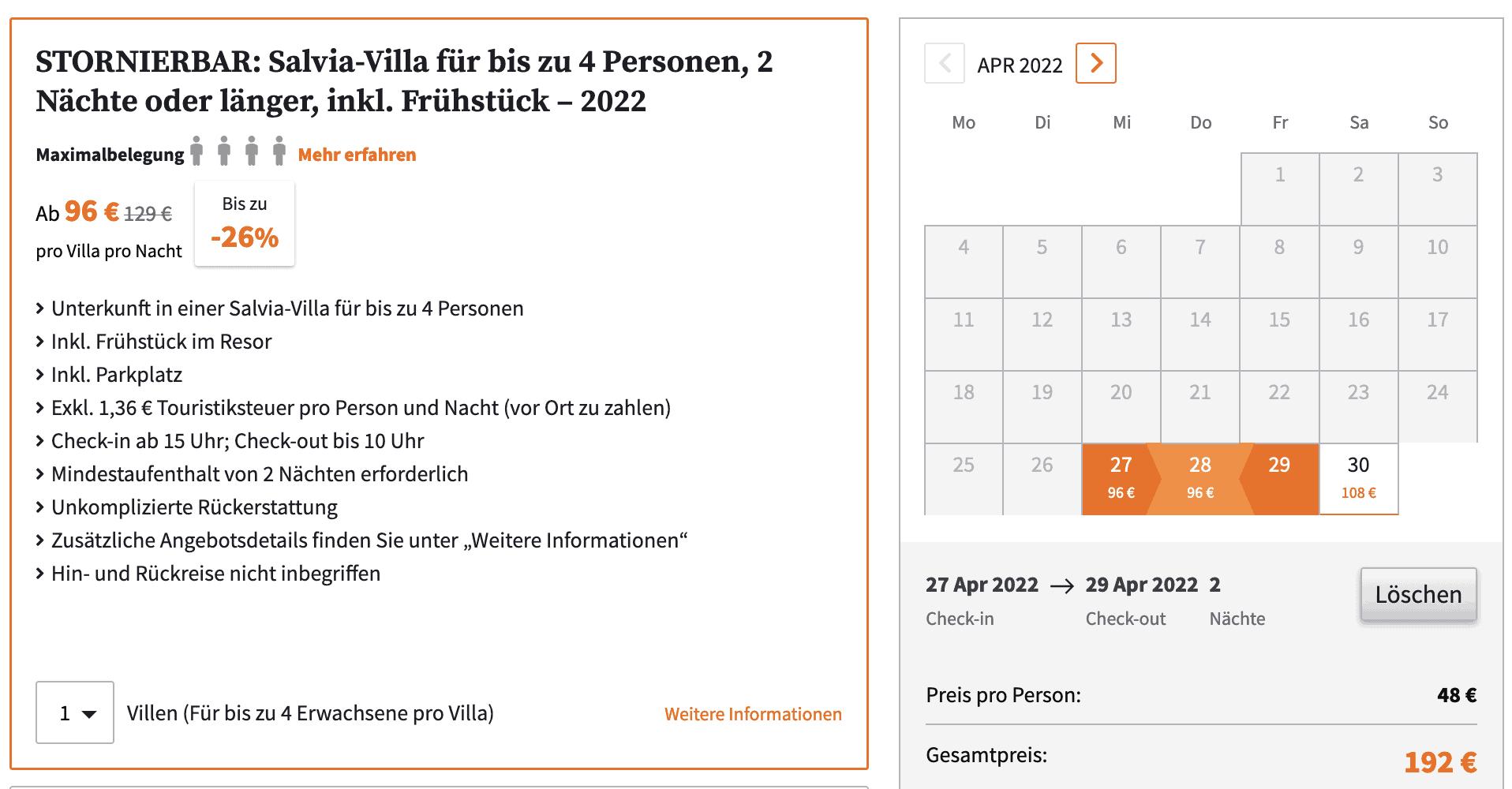 Krk Villas Angebot
