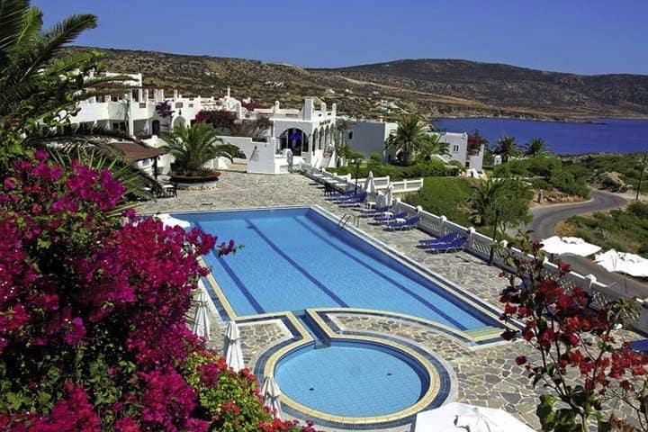 Karpathos Urlaub Pool